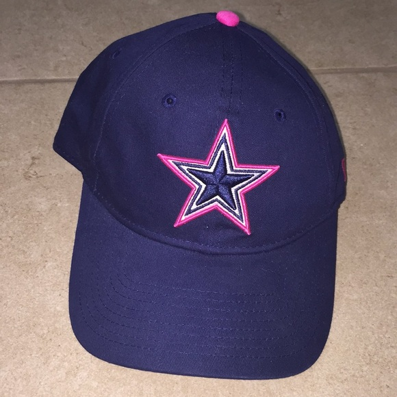 5486f96d4 NFL Accessories | Dallas Cowboys Breast Cancer Awareness Hag | Poshmark